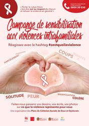 Campagne de sensibilisation #cestquoilaviolence