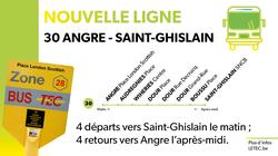 Découvrez la nouvelle ligne Angre - Saint-Ghislain