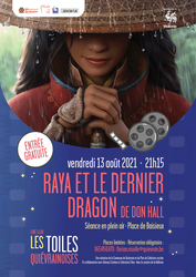 Du cinéma d'animation, en plein air à Baisieux