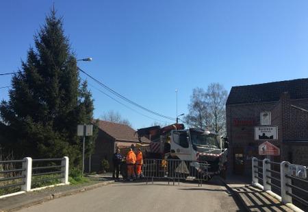 Fermeture de la frontière Petit-Baisieux-Quiévrechain