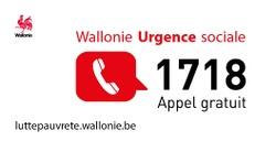 Le Numéro Vert 1718 pour les urgences sociales
