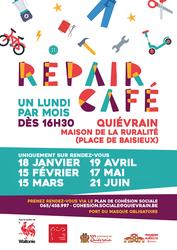 Le Repair Café de retour en 2021