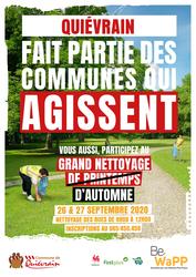 Participez au Grand Nettoyage d'Automne !