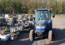 Prolongation de la fermeture du cimetière de Baisieux