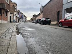 Travaux de réfection de la chaussée rue des Wagnons