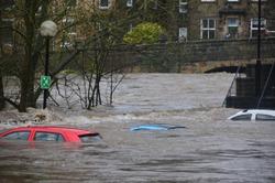 Un geste pour les victimes des inondations
