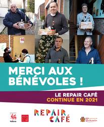 Un merci aux bénévoles du Repair Café !