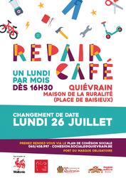 Un objet à réparer ? Le Repair Café !