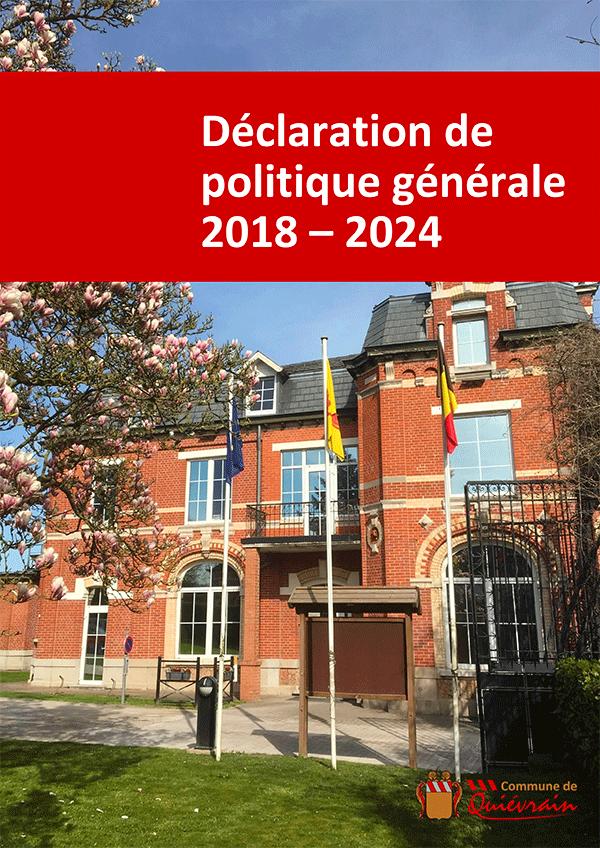 Déclaration de politique générale 2019 2024 1